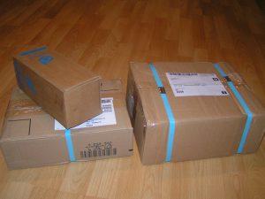 So werden die Pakete verpackt