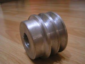 alumínium ékszíjtárcsa