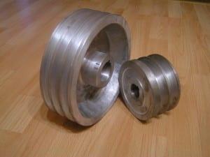 keilriemenscheibe aus aluminium