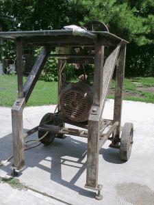 forgókúpos hasogatógép