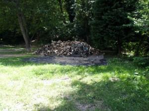 hasított tűzifa