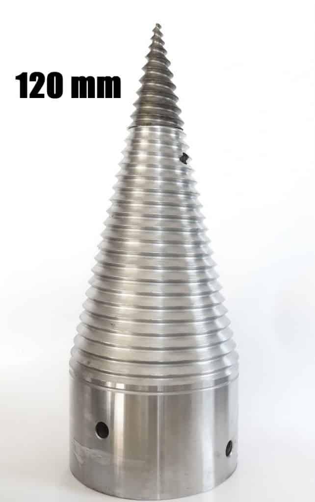 120 mm hasító kúp