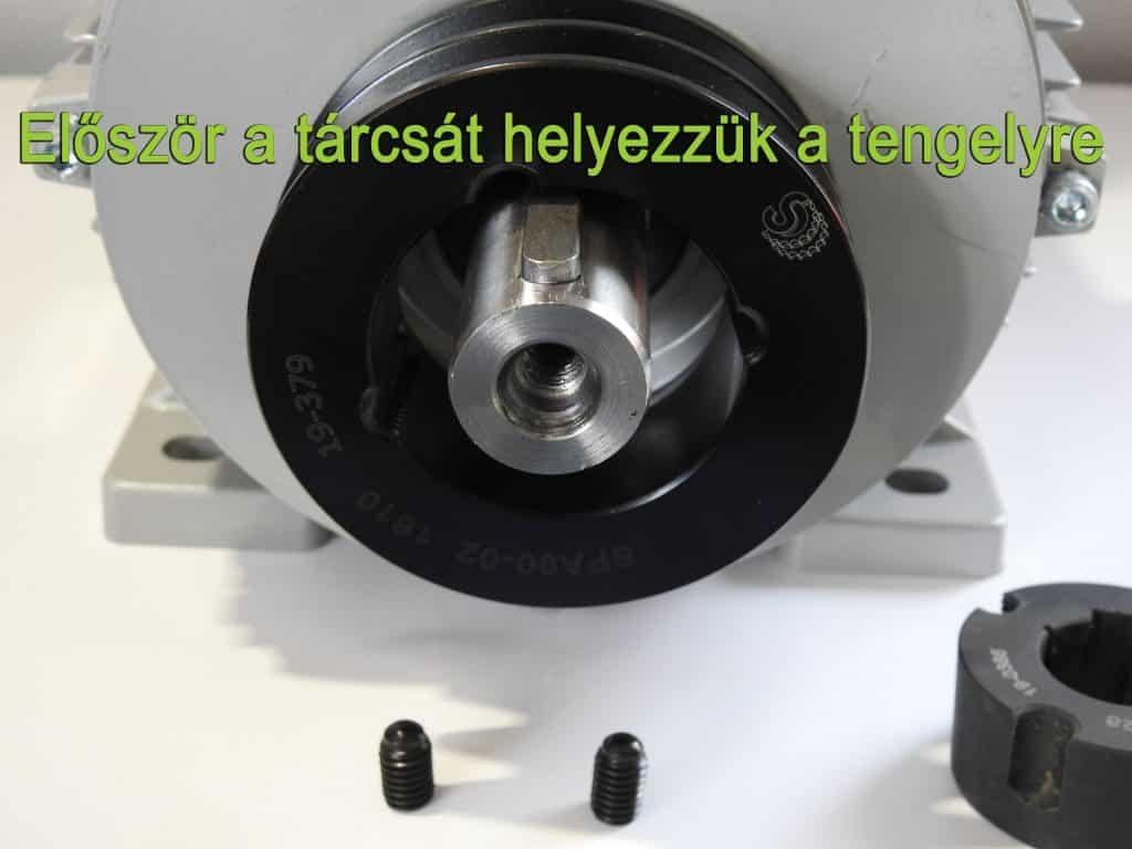 villanymotor szíjtárcsa